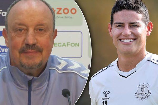 Rafa Benitez has urged James Rodriguez to adapt this season