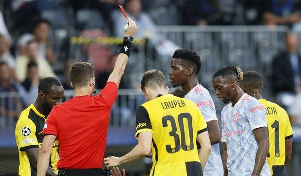 Young Boys overturned to win Manchester United 2-1