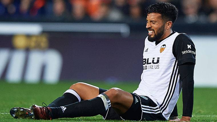 Valencia are struggling with injuries to their players