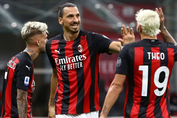 AC Milan set goal to get a place in the Champions League.