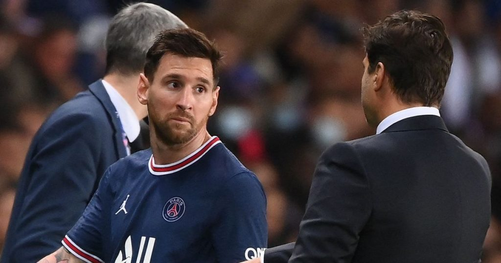 L'Equipe reveals Messi was replaced because his knee injury